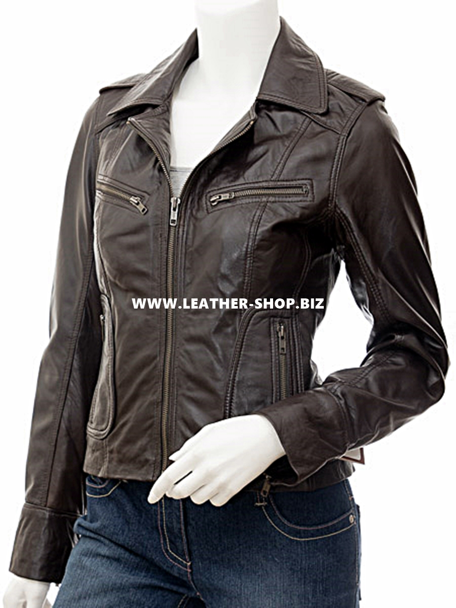 ladies-leather-jacket-custom-made-biker-style-llj611-brown-www.leather-shop.biz-front-pic.jpg