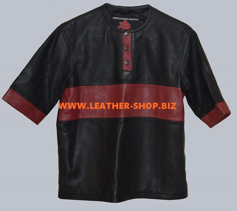 lambskin-leather-t-shirt-style-lts001-black-burgundy-www.leather-shop.biz-front-pic.jpg