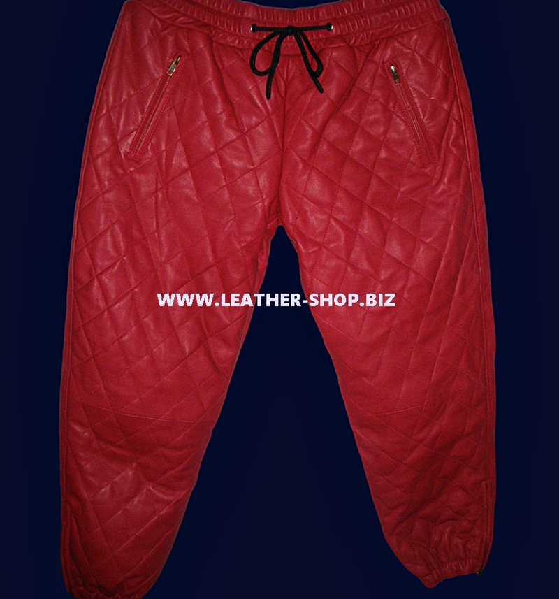 leather-sweat-jogging-pants-with-diamond-stitching-style-lsp111-custom-made-www.leather-shop.biz-red-color-shown-front-pic.png