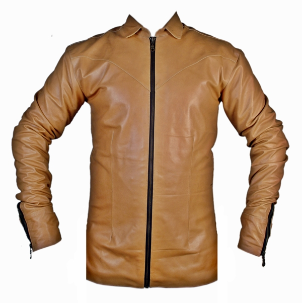 mens-lambskin-leather-shirt-ls050z-brown-with-zippered-front-and-cuffs-front-pic.jpg