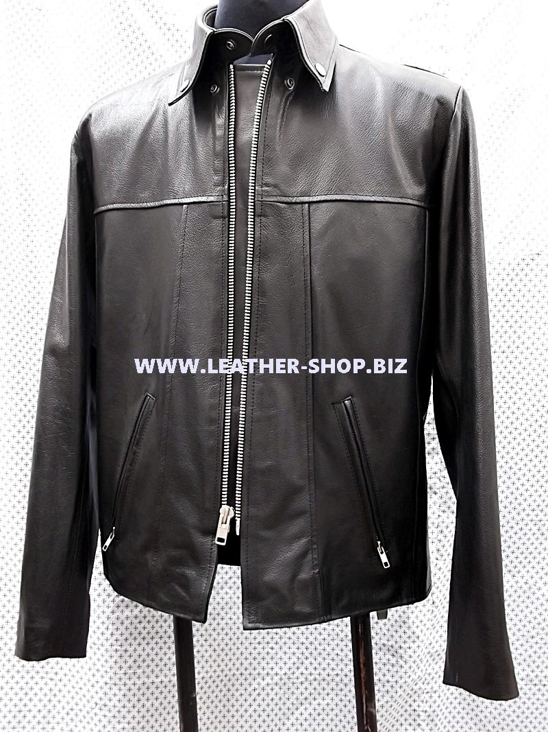 قدم على غرار الرجال والجلود سترة-mlj135 خصيصا-www.leather-shop.biz-الجبهة-محلول-picture.jpg لل
