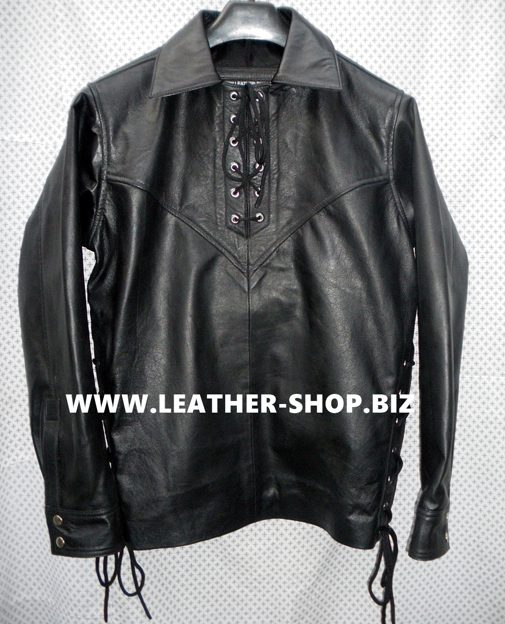 mens-leather-shirt-pullover-style-ls098-with-fringe-www.leather-shop.biz-front-pic.jpg