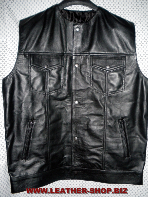 Мъжко кожено-жилетка стил-mlv1333-www.leather-shop.biz-снимка-1.jpg